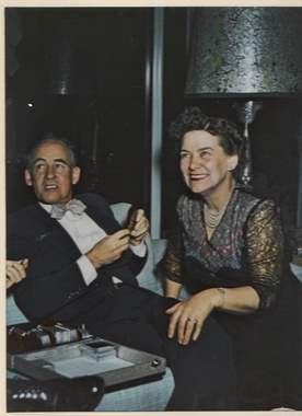 Parker and wife Annie Mae