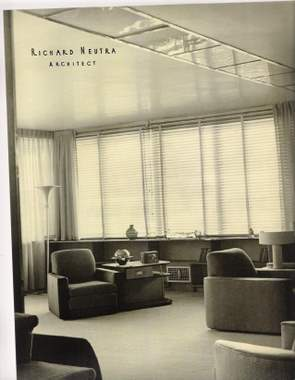 A Richard Neutra interior by Parker